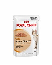 Bouchées en Sauce Royal Canin Intense Beauty 12x85g pour chats