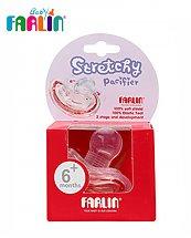 Farlin Sucette Stretchy 2ème AGE sans anneau - 6M+