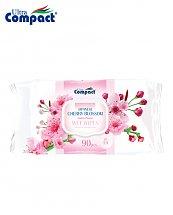 Lingette Humide Ultra Compact Cerisiers en fleurs du Japon - 90 pièces