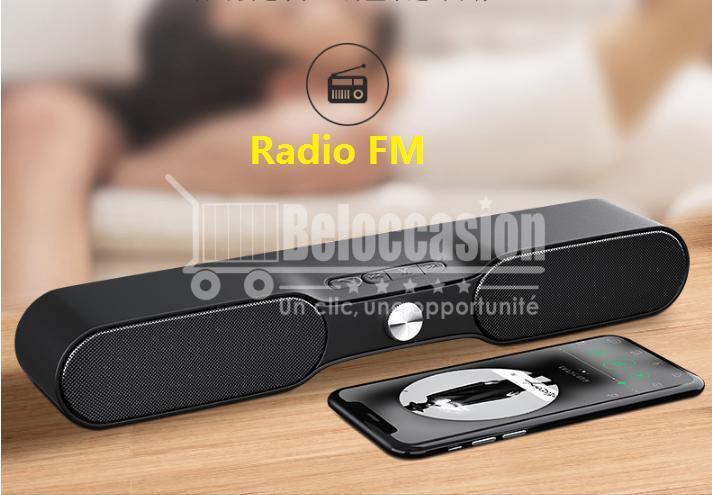 Barre de son NR4017 Soundbar - NewRixing Bluetooth Multifonction Sports Mini Speaker beloccasion maroc