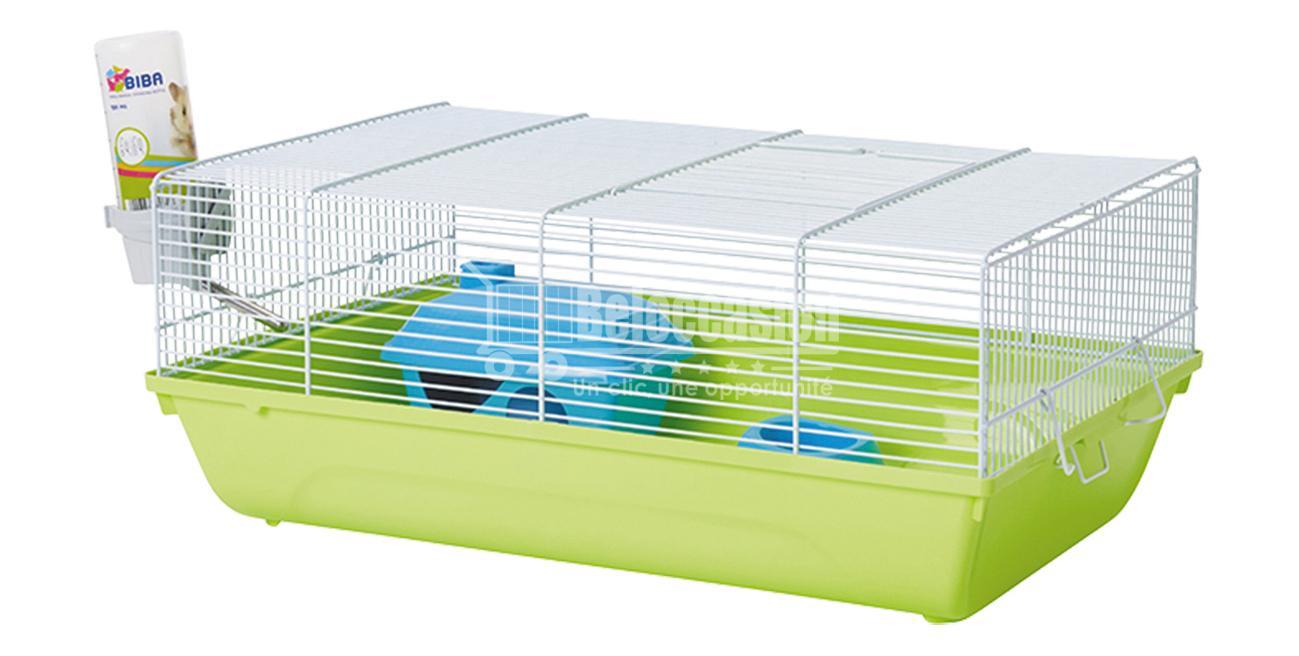 Cage souris budget stuart blanc et vert 46,5x29,5x19cm - Savic elevage de souris pour serpent cage souris cage d elevage laboratoire cage a souris a donner souris, domestique, elevage de rat pour serpent, Beloccasion maroc