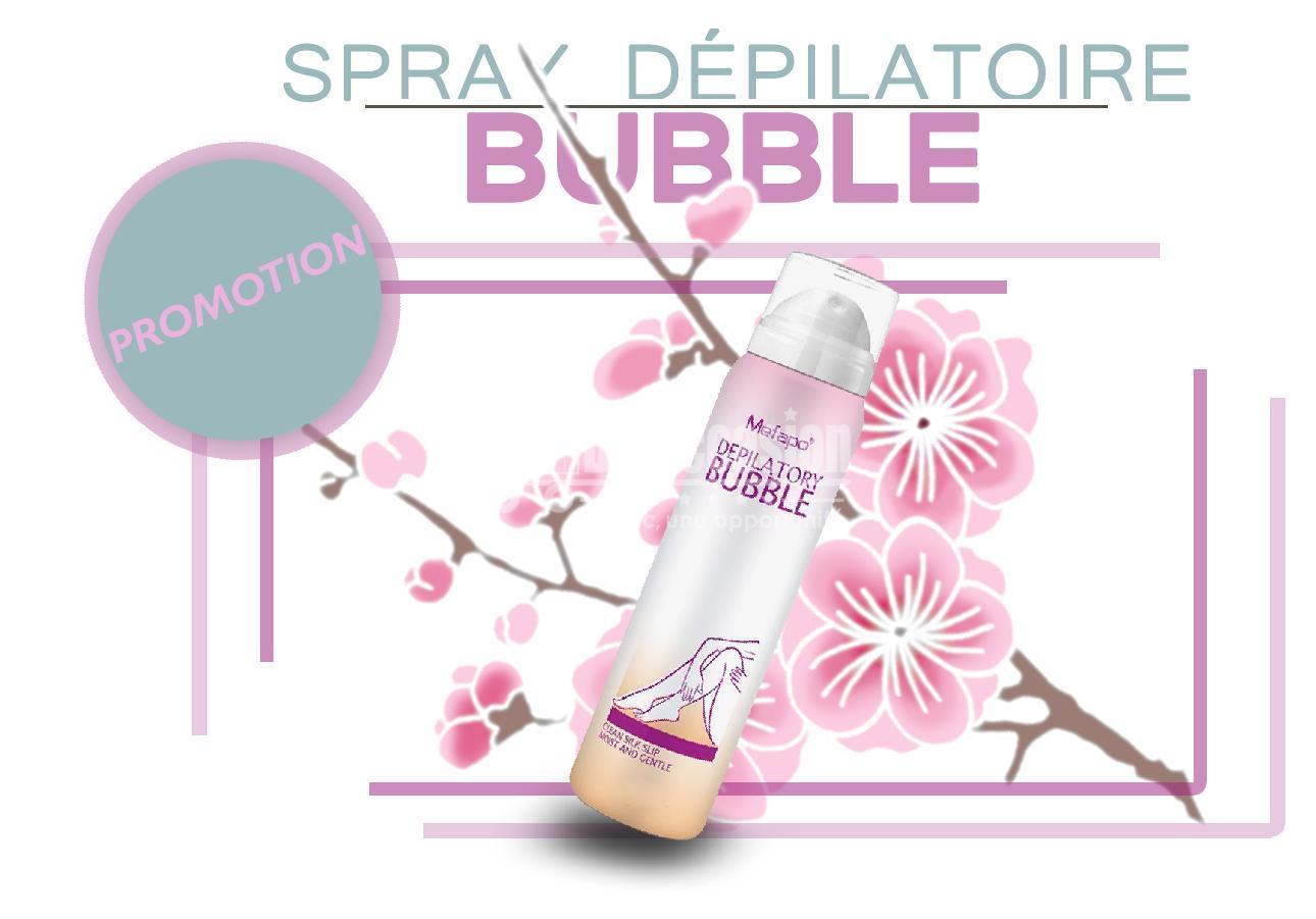 Crème dépilatoire naturelle pour les hommes et les femmes - Épilation permanente Bikini - Bubble Mefapo maroc beloccasion