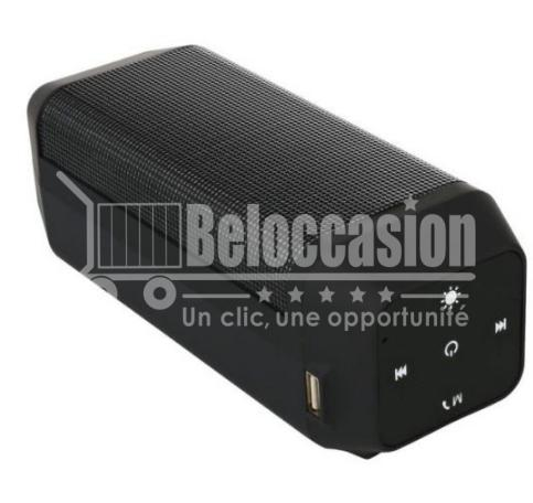 Haut Parleur Bluetooth Lumineux B56 - beloccasion maroc