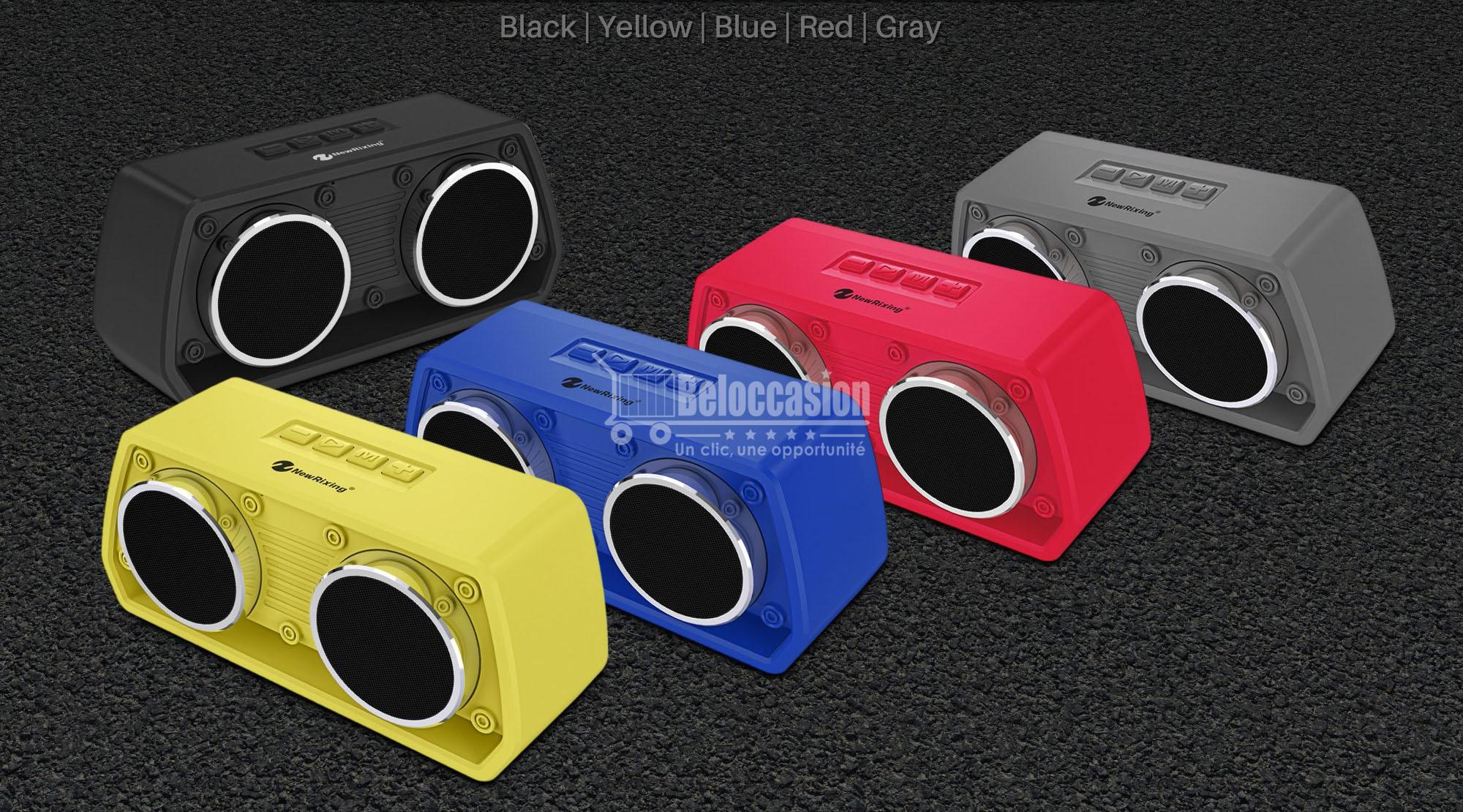 NewRixing NR-2024 Bluetooth Loudspeaker, Wireless Speakers Manufacturer, Sports Mini Speaker Exporters, Comfortable hand feeling, TWS function. beloccasion.com