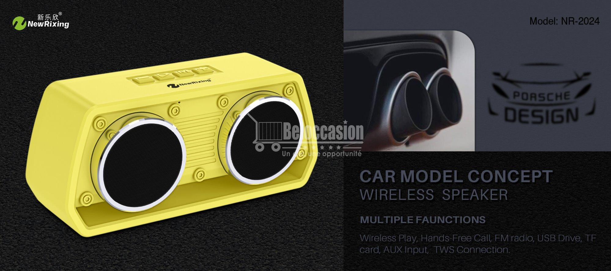 NewRixing NR-2024 Bluetooth Loudspeaker, Wireless Speakers Manufacturer, Sports Mini Speaker Exporters, Comfortable hand feeling, TWS function. beloccasion.ma