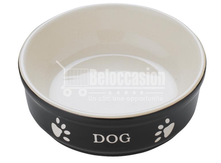 Mangeoire-chien-terre-cuite-noir-12cm---Vadigran-au-maroc-beloccaison.ma-zolux-jumia-animalerie-maroc