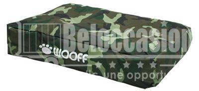 Matelas Wooff camouflage pour chien et chat 75x55x15cm beloccasion.com