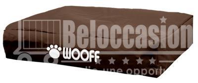 Matelas Wooff Déhoussable Café pour chien et chat 75x100x15cm animalerie beloccasion maroc