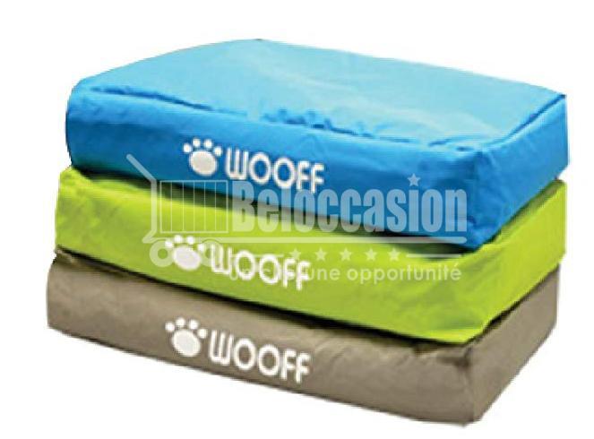 Matelas Wooff Déhoussable Colchon Box Taupe pour chien et chat L 75x55x15cm beloccasion maroc