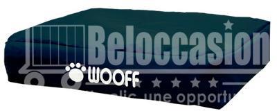 Matelas Wooff Déhoussable Noir pour chien et chat 75x100x15cm