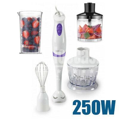 Mélangeur à main 3 en 1 avec accessoires 250W - Royalty Line maroc vente linge accessoire de cuisine ramadan beloccasion.com