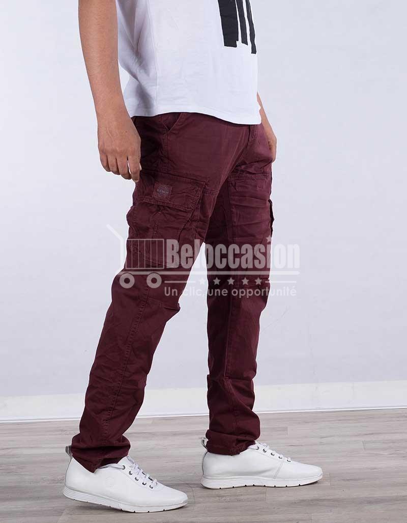 PANTALON GROUNA AK7218-7 pantalon pour homme au Maroc pantalon fashion sport Maroc vente en ligne site e-commerce beloccasion Maroc