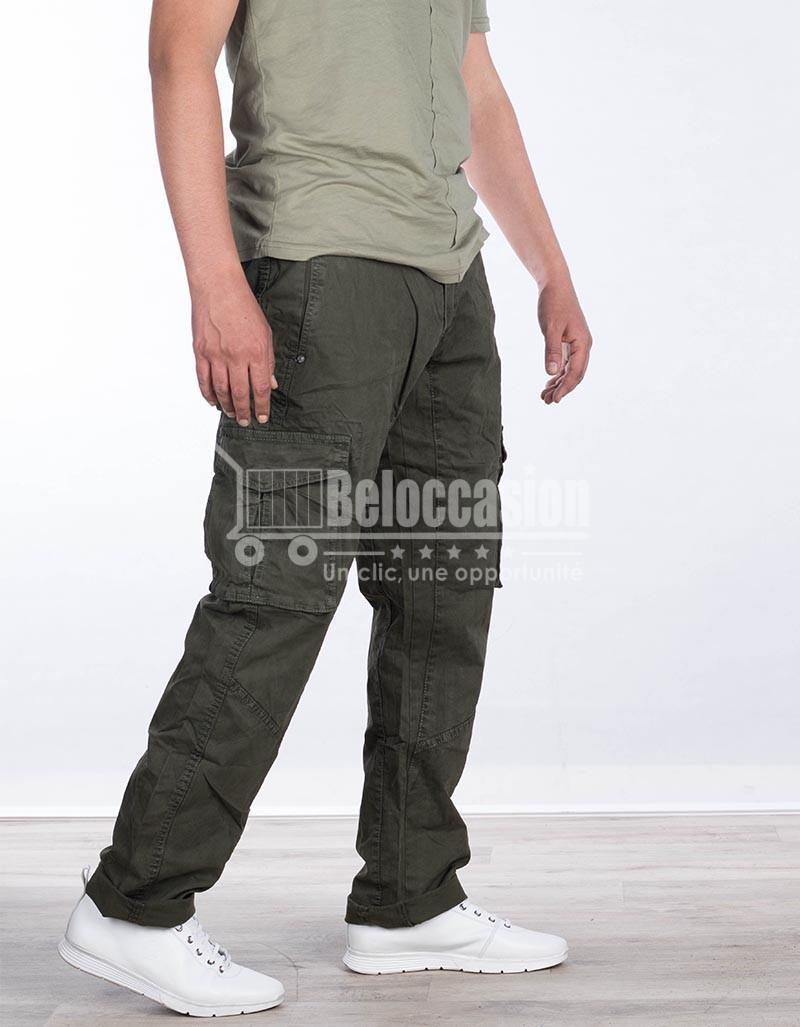 PONTALON VERT FONCE 1903 pantalon pour homme au Maroc pantalon fashion sport Maroc vente en ligne site e-commerce beloccasion Maroc