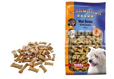 Snack chi en biscuits Mini Bones Saumon 200g - friandise cuite au four - Plusieurs saveurs différentes - Faible teneur en matiere grasse - Sain et vitaminé - Idéal pour l'éducation du chien - 200g beloccasion maroc