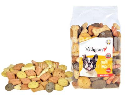 Snack chien biscuits Multi Mix 500g - Vadigran - animalerie maroc - beloccasion.com