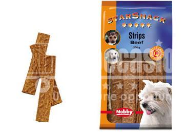 Snack chien biscuits Strips Boeuf 200g - Nobby- friandise cuite au four - Plusieurs saveurs différentes - Faible teneur en matiere grasse - Sain et vitaminé - Idéal pour l'éducation du chien - 200g beloccasion maroc