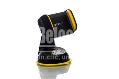 Compatible avec les téléphones de 3,6 pouces à 6,0 pouces Rotation de 360 degrés pour ajuster la vue Facile à installer et enlever La ventouse forte extra-large s'attache au pare-brise Ne bloque pas ou n'interfère pas avec votre vision de la ligne tout en conduisant Peut être tourné à 360 ° à voir sous tous les angles