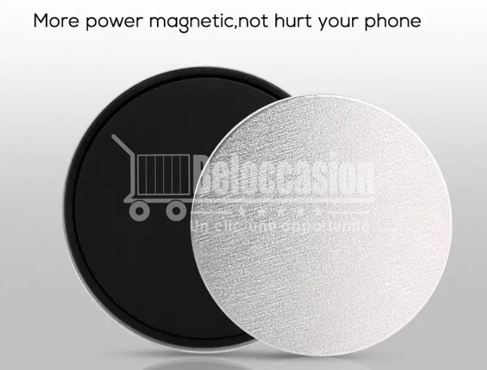 Support Téléphone magnétique universel pour voiture - Compatible iPhone/Samsung site beloccasion maroc